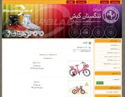 نمونه طراحی وب سایت